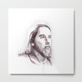 Jesus, the man Metal Print