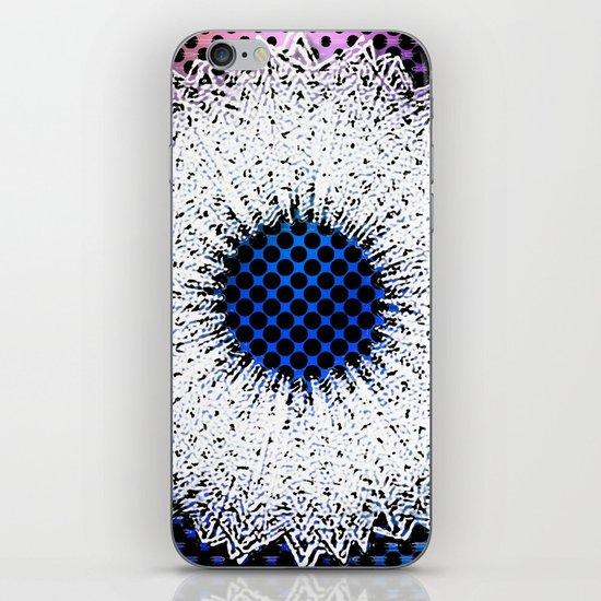 Ice wreath iPhone & iPod Skin