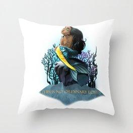 No Ordinary Love Throw Pillow