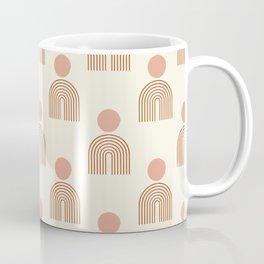Full moon rainbow pattern collection SS01 Coffee Mug