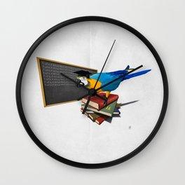 Repeat (Wordless) Wall Clock
