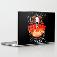 custom Laptop & iPad Skins featuring Custom Choppers by BerkKIZILAY