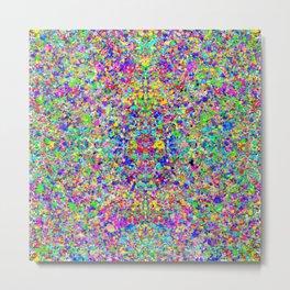 Cosmic Static Metal Print