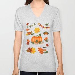 Fall essentials Unisex V-Neck