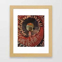 Rabbit Hole Roulette Framed Art Print