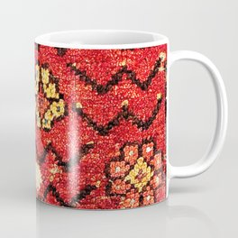 Konya Anatolian 18th Century Rug Fragment Print Coffee Mug
