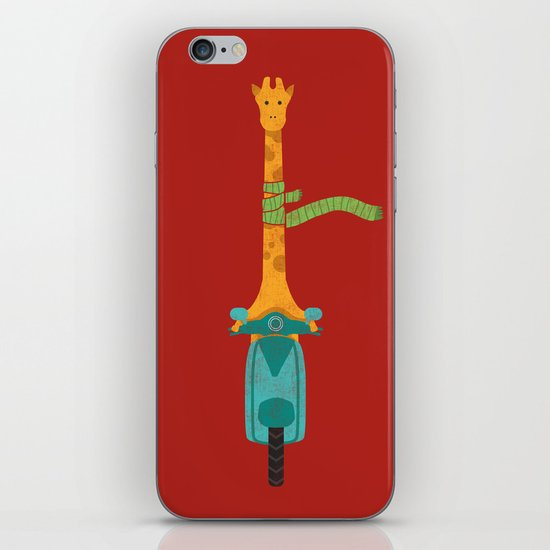 Scooter - ing around iPhone & iPod Skin