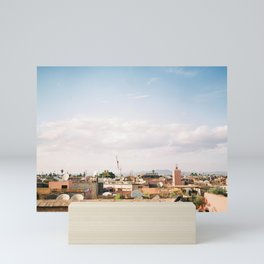 "Marrakech travel photography print ""Rooftops"" 
