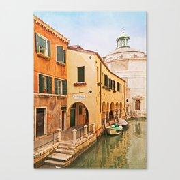 A Venetian View - Sotoportego de le Colonete - Italy Canvas Print
