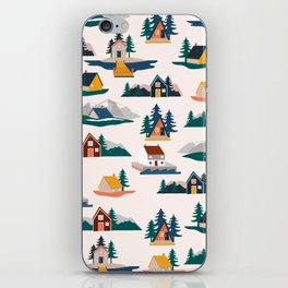 Let's stay here iPhone Skin