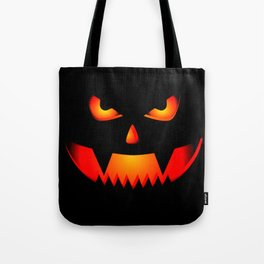 Scary Halloween Pumpkin print Gift For Halloween Party Tote Bag