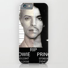 BOWIE + PRINCE Mugshot iPhone 6s Slim Case