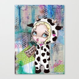 Too Cute To Eat Canvas Print