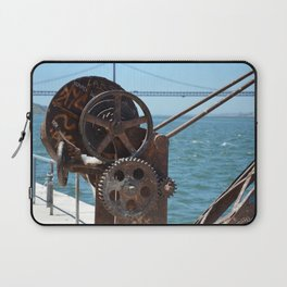 Almada, winching machine Laptop Sleeve