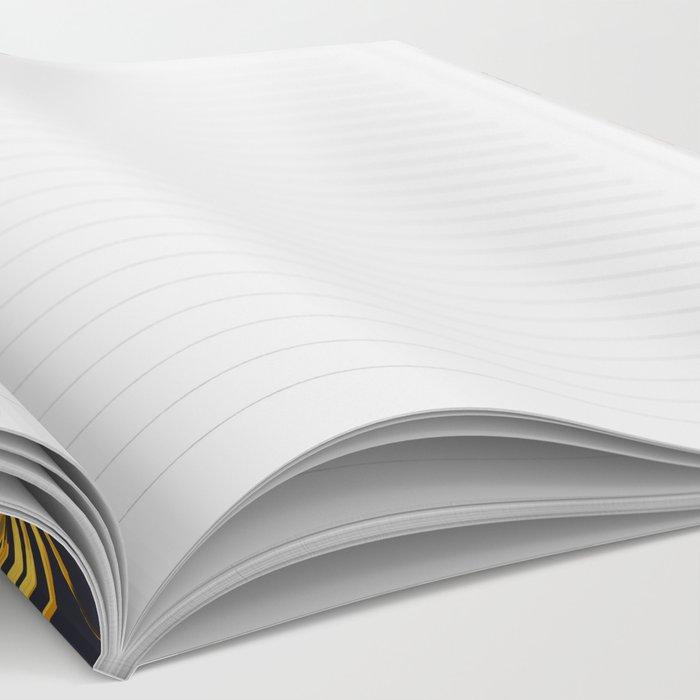 Floral Chevron Notebook