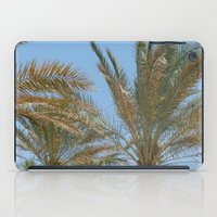 palm trees iPad Cases featuring Palm Trees by MehrFarbeimLeben