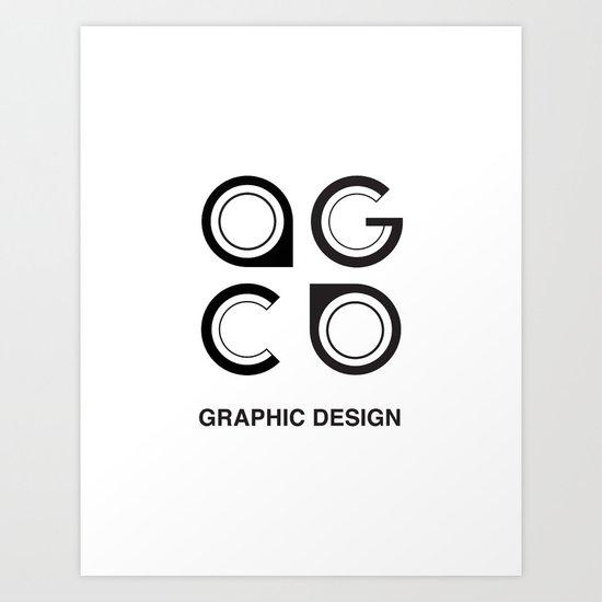my_logo Art Print