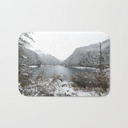 Winter wilderness Bath Mat