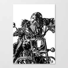 Gang Girl Canvas Print