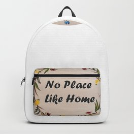 Decoration of flowers Backpack