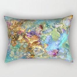Mermaids Treasure Rectangular Pillow