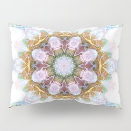 Mandalas from the Heart of Freedom 14 Pillow Sham