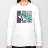 jaguar Long Sleeve T-shirts featuring jaguar by aceta