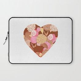 Corazón de Pan Dulce Laptop Sleeve