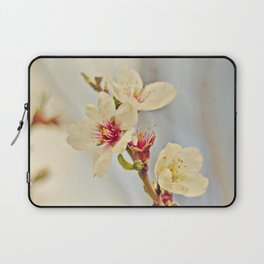 Almond Blossoms in the Wind Laptop Sleeve