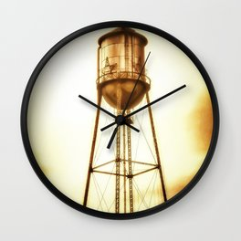 Texas Water Tower Wall Clock