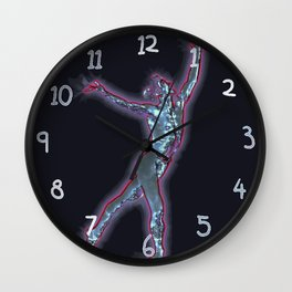 God Of Dance Wall Clock