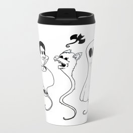 Happy Halloween from the whole family Metal Travel Mug