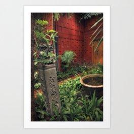 Jim Thompson's house - Bangkok - Thailand Art Print