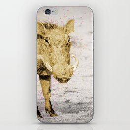 Golden warthog Jake iPhone Skin