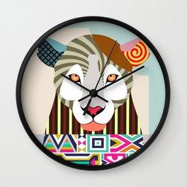 African Leopard Wall Clock