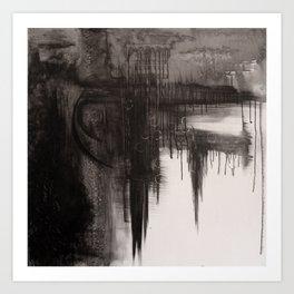 Unravelled. Art Print