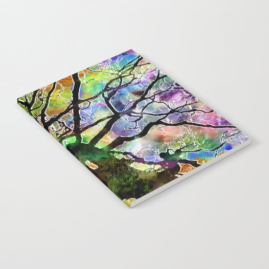 Frosted Tree Notebook