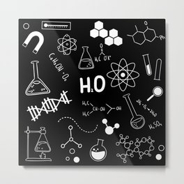 All about science Metal Print