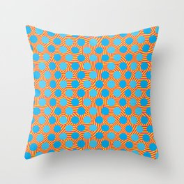 Dazzle - CMY Throw Pillow