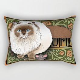 Can we keep him? Rectangular Pillow