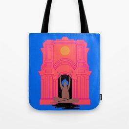 moon goddess illustration Tote Bag