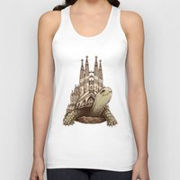 architecture Tank Tops featuring Slow Architecture by Enkel Dika