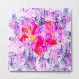 My Valentine Heart Metal Print