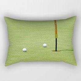 Golf Pin Rectangular Pillow