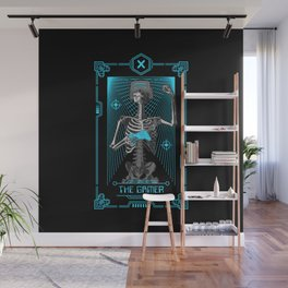 The Gamer X Tarot Card Wall Mural