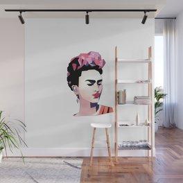 Poly Frida Wall Mural