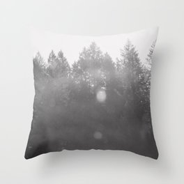 To the Tree Tops Throw Pillow