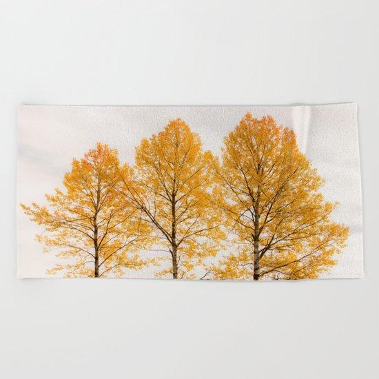 Aspen Trees Beach Towel