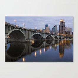 Minneapolis 3rd Avenue Bridge Canvas Print