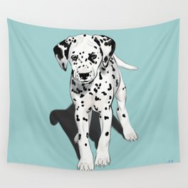 Dalmatian Puppy Wall Tapestry
